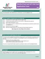 GMS/Full Medical Card