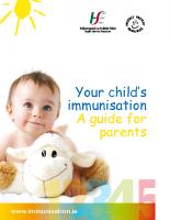 Child Immunisation Guide