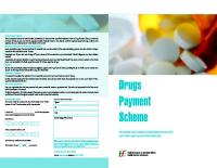 Drug Payment Scheme Application